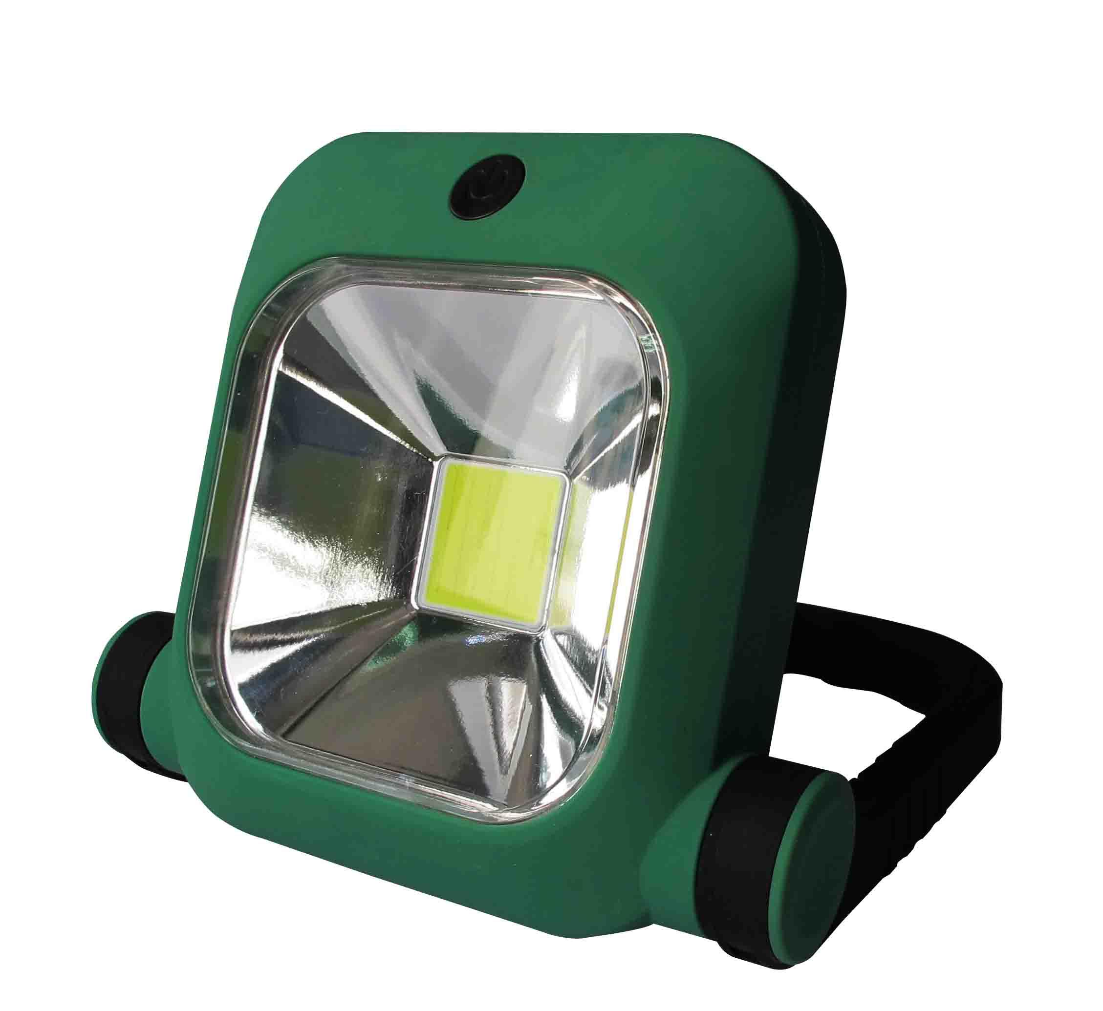 充電式軽量LED投光器